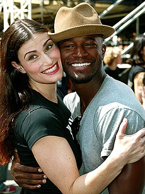 MOST DISTURBING THREATS photo | Idina Menzel, Taye Diggs