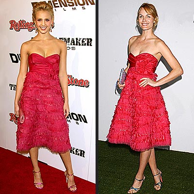 JESSICA VS. AMBER photo | Amber Valletta, Jessica Alba