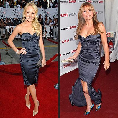 LINDSAY VS. GERI photo | Geri Halliwell, Lindsay Lohan