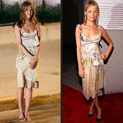 JENNIFER VS. NICOLE photo | Jennifer Aniston, Nicole Richie