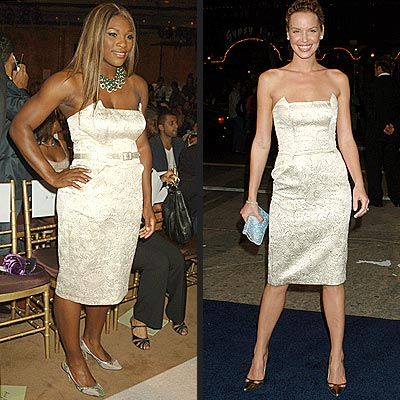 SERENA VS. ASHLEY photo | Ashley Scott, Serena Williams