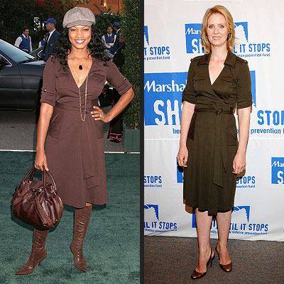 GARCELLE VS. CYNTHIA photo | Cynthia Nixon, Garcelle Beauvais-Nilon