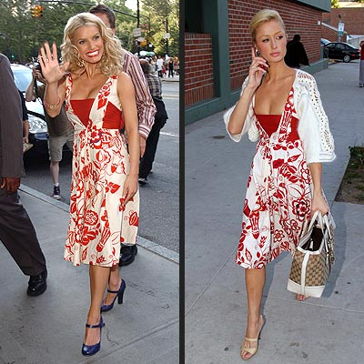 JESSICA VS. PARIS photo | Jessica Simpson, Paris Hilton