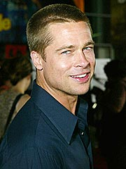 Brad Pitt's Facial Touch-Up