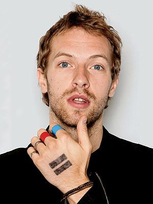 10. CHRIS'S FINGER AND HAND DESIGNS photo | Chris Martin