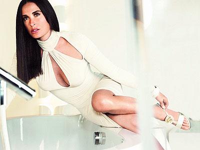 9. DEMI'S VERSACE ADS photo | Demi Moore
