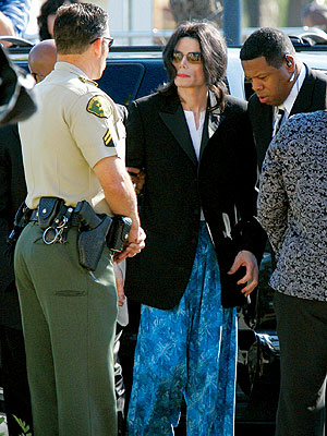 2. MICHAEL'S COURT PAJAMAS photo | Michael Jackson
