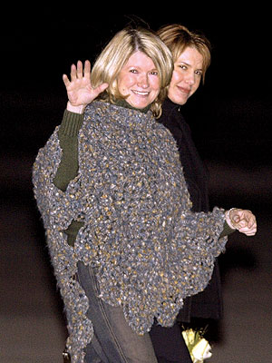 5. MARTHA'S PONCHO photo | Martha Stewart