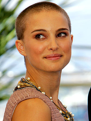 3. NATALIE'S SHAVED HEAD photo | Natalie Portman