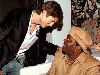 FULL PLATE photo | Ashton Kutcher, Bernie Mac