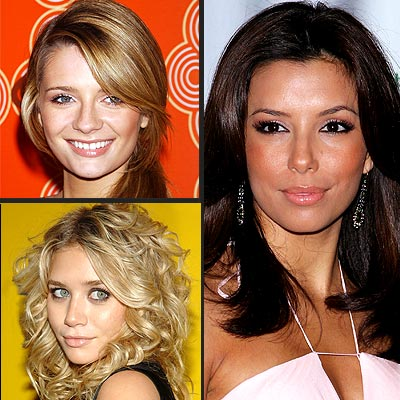 TREND: DOE EYES photo | Ashley Olsen, Eva Longoria, Mischa Barton