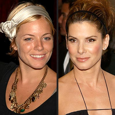TREND: HEADBANDS photo | Sandra Bullock, Sienna Miller
