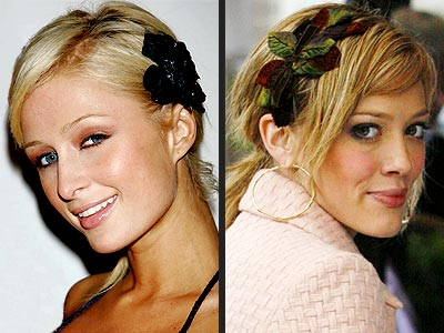 TREND: FLORAL HAIR ACCESSORIES photo | Hilary Duff, Paris Hilton