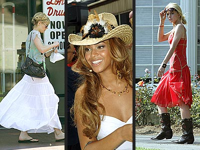 BEST (OR WORST) TREND photo | Beyonce Knowles, Kirsten Dunst, Lindsay Lohan