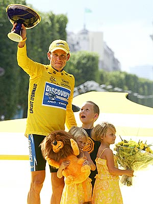 BEST FINISH photo | Lance Armstrong