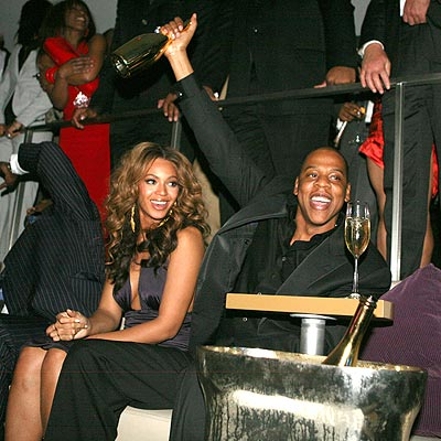 POP THE CORK! photo | Beyonce Knowles, Jay-Z