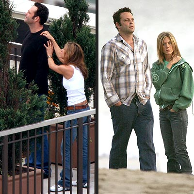 VINCE & JENNIFER:IN THE MOMENT photo | Jennifer Aniston, Vince Vaughn