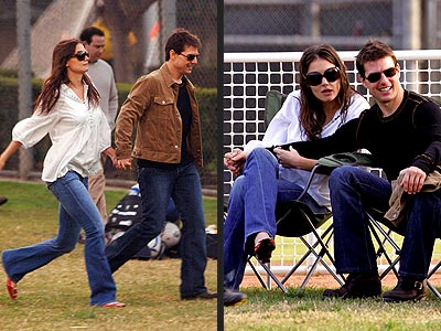 TOM & KATIE:MIXED SIGNALS? photo | Katie Holmes, Tom Cruise
