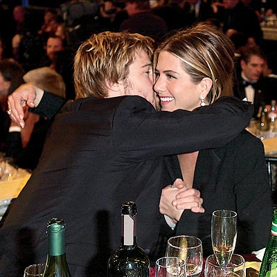 JANUARY 2002 photo | Brad Pitt, Jennifer Aniston