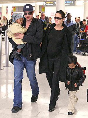 FRANCE photo | Angelina Jolie, Brad Pitt