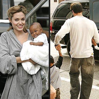 NEW YORK CITY photo | Angelina Jolie, Brad Pitt