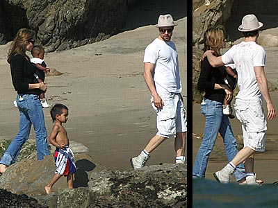 MALIBU photo | Angelina Jolie, Brad Pitt