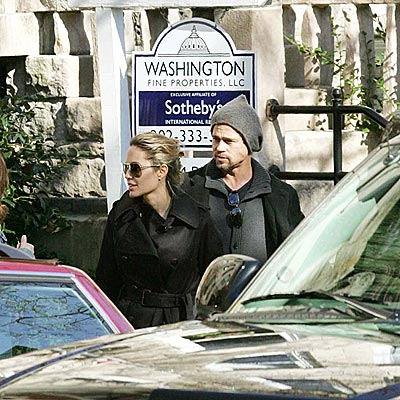 WASHINGTON, D.C. photo | Angelina Jolie, Brad Pitt