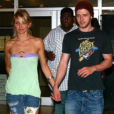 CAMERON DIAZ & JUSTIN TIMBERLAKE photo | Cameron Diaz, Justin Timberlake