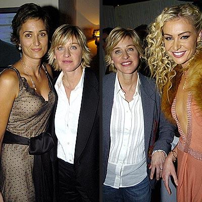 BREAKUP: ELLEN & ALEXANDRAHOOKUP: ELLEN & PORTIA photo | Ellen DeGeneres, Portia de Rossi
