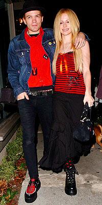 DERYCK & AVRIL photo   Avril Lavigne, Deryck Whibley