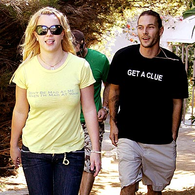 BRITNEY & KEVIN photo | Britney Spears, Kevin Federline
