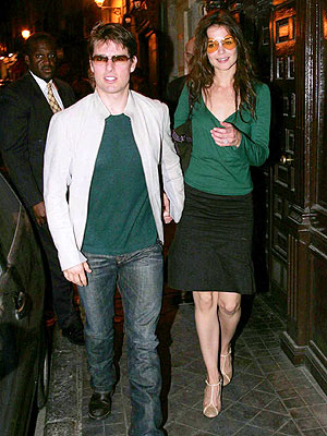 TOM & KATIE photo | Katie Holmes, Tom Cruise