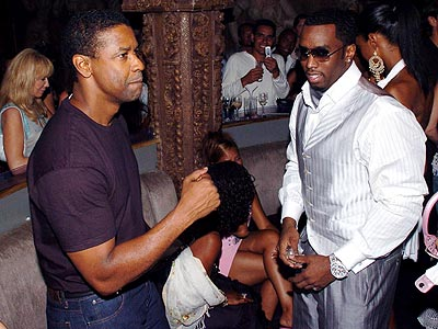 DOWN TO EARTH photo | Denzel Washington, Sean \P. Diddy\ Combs