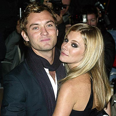 JUDE LAW & SIENNA MILLER photo | Jude Law, Sienna Miller
