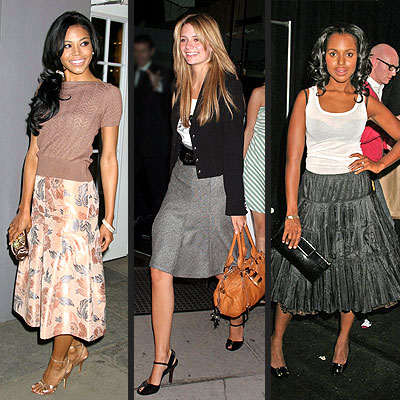 TREND: FULL SKIRTS photo | Amerie, Kerry Washington, Mischa Barton