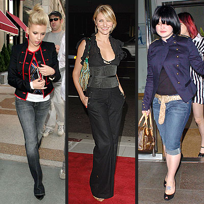 TREND: MILITARY photo | Cameron Diaz, Kelly Osbourne, Scarlett Johansson