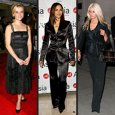 TREND: BLACK photo | Halle Berry, Jessica Simpson, Reese Witherspoon