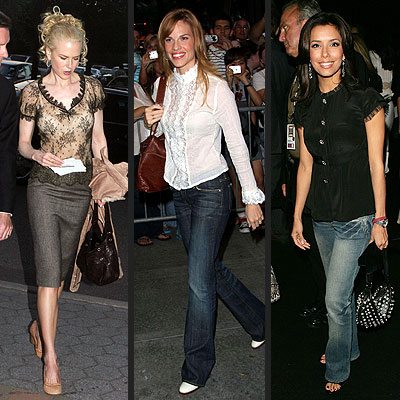 TREND: ROMANTIC TOPS photo | Eva Longoria, Hilary Swank, Nicole Kidman