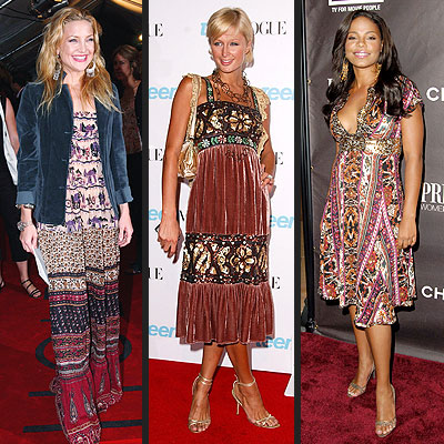 TREND: FOLKLORIC photo | Kate Hudson, Paris Hilton, Sanaa Lathan