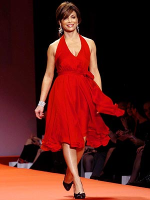 LADY IN RED photo | Paula Abdul