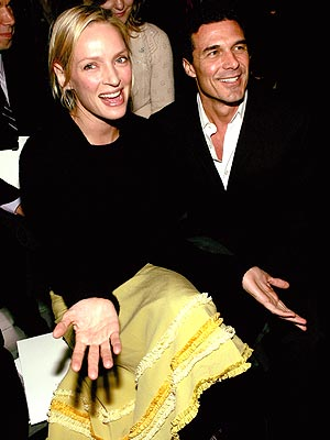 FRONT-ROW FUN photo | Uma Thurman