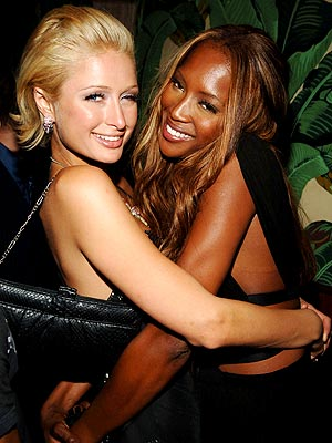 WRAP AROUND photo | Naomi Campbell, Paris Hilton