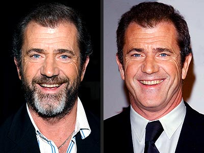 Celebrity short hairstyles Mel Gibson pictures 2