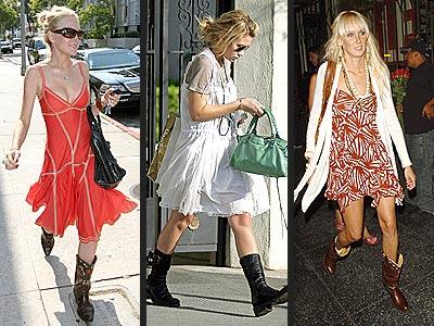 SUMMER BOOTS photo | Ashley Olsen, Kimberly Stewart, Lindsay Lohan