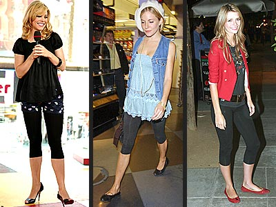 LEGGINGS photo | Mischa Barton, Rachel McAdams, Sienna Miller