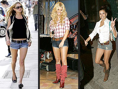 DAISY DUKE SHORTS photo | Eva Longoria, Jessica Simpson, Kate Moss