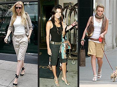 WALKING SHORTS photo | Eva Longoria, Gwyneth Paltrow, Hilary Duff