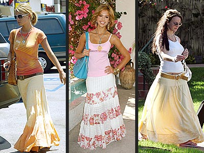 STREET-SWEEPING SKIRTS photo | Britney Spears, Jessica Alba, Jessica Simpson