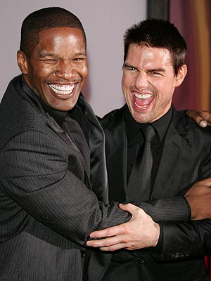 HAVING A BALL photo | Jamie Foxx, Tom Cruise