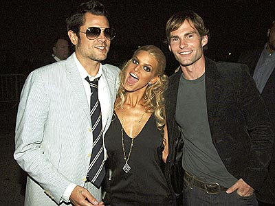 CRAZY DUKES photo | Jessica Simpson, Johnny Knoxville, Seann William Scott